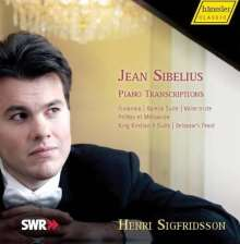 Jean Sibelius (1865-1957): Klaviertranskriptionen, CD