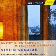 Mieczyslaw Weinberg (1919-1996): Violinsonaten Nr.3 & 4, CD