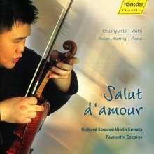 Chuanyun Li - Salut d'Amour, CD