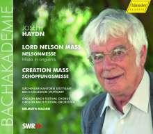 "Joseph Haydn (1732-1809): Messen Nr.11 & 13 (""Nelson-Messe"" & ""Schöpfungsmesse""), CD"
