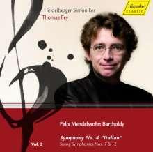 """Felix Mendelssohn Bartholdy (1809-1847): Symphonie Nr.4 """"Italienische"""", CD"""