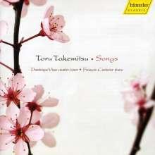 Toru Takemitsu (1930-1996): Lieder, CD