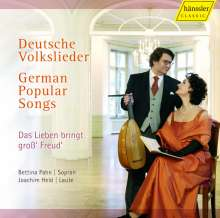 Bettina Pahn - Deutsche Volkslieder, CD