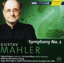 Gustav Mahler (1860-1911): Symphonie Nr.2, SACD