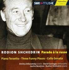Rodion Schtschedrin (geb. 1932): Sonate für Cello & Klavier (1997), CD