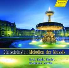 Die schönsten Melodien der Klassik, CD