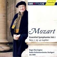 Wolfgang Amadeus Mozart (1756-1791): Symphonien Vol.1, CD