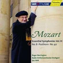 Wolfgang Amadeus Mozart (1756-1791): Symphonien Vol.3, CD