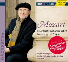 Wolfgang Amadeus Mozart (1756-1791): Symphonien Vol.4, CD
