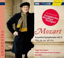 Wolfgang Amadeus Mozart (1756-1791): Symphonien Vol.5, CD