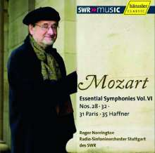 Wolfgang Amadeus Mozart (1756-1791): Symphonien Vol.6, CD