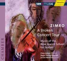ZIMRO - A Broken Concert Tour, CD