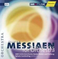 Olivier Messiaen (1908-1992): Orchesterwerke, 8 CDs