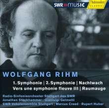 Wolfgang Rihm (geb. 1952): Symphonien Nr.1 & 2, CD