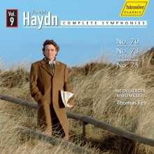 Joseph Haydn (1732-1809): Symphonien Nr.70,73,75, CD