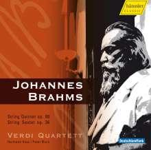 Johannes Brahms (1833-1897): Streichquintett Nr.1, CD