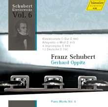 Franz Schubert (1797-1828): Klavierwerke Vol.6, CD