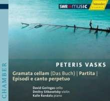 Peteris Vasks (geb. 1946): Kammermusik mit Cello, CD