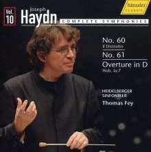 Joseph Haydn (1732-1809): Symphonien Nr.60 & 61, CD