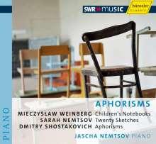 Jascha Nemtsov - Aphorisms, CD