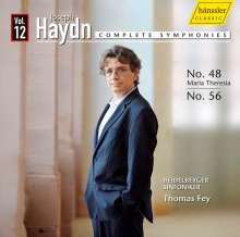 Joseph Haydn (1732-1809): Symphonien Nr.48 & 56, CD