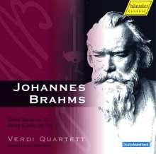 Johannes Brahms (1833-1897): Streichsextett Nr.1 op.18, CD