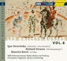 Les Ballets Russes Vol.6, CD
