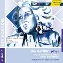 Ida Haendel spielt Khachaturian & Bartok, CD