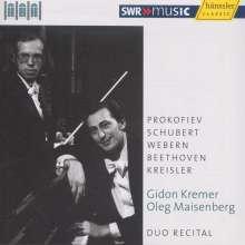 Gidon Kremer & Oleg Maisenberg - Duo Recital, CD