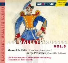 Les Ballets Russes Vol.5, CD