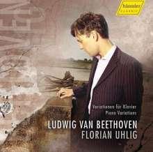 Ludwig van Beethoven (1770-1827): Klaviervariationen, CD