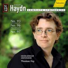 Joseph Haydn (1732-1809): Symphonien Nr.93,96,97, CD