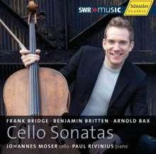Johannes Moser & Paul Rivinius - Cello Sonatas, CD