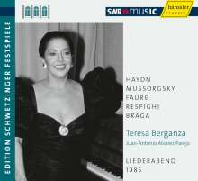 Teresa Berganza - An Evening of Song, CD