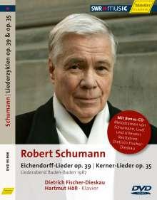Robert Schumann (1810-1856): Liederkreis op.39 nach Eichendorff, 2 DVDs