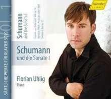 Robert Schumann (1810-1856): Klavierwerke Vol.1 (Hänssler) - Schumann und die Sonate I, CD