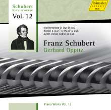 Franz Schubert (1797-1828): Klavierwerke Vol.12, CD