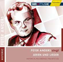 Peter Anders singt Arien & Lieder, 2 CDs