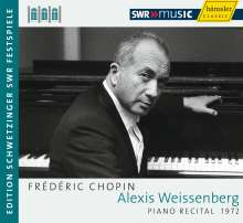 Alexis Weissenberg - Piano Recital (Schwetzinger Festspiele), CD