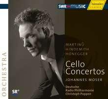Johannes Moser - Cellokonzerte, CD