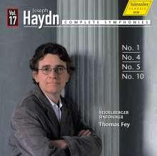Joseph Haydn (1732-1809): Symphonien Nr.1,4,5,10, CD