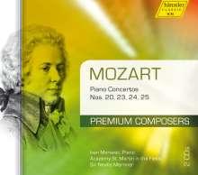 Wolfgang Amadeus Mozart (1756-1791): Klavierkonzerte Nr.20,23-25, 2 CDs