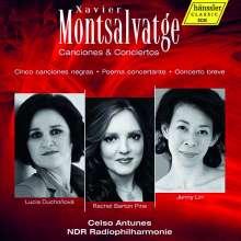 Xavier Montsalvatge (1912-2002): Canciones & Concertos, CD