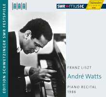 Andre Watts - Piano Recital 1986 (Schwetzinger Festspiele), CD