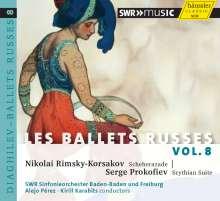 Les Ballets Russes Vol.8, CD