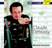 Claude Debussy (1862-1918): Klavierwerke Vol.1, CD