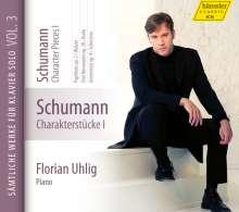 Robert Schumann (1810-1856): Klavierwerke Vol.3 (Hänssler) - Charakterstücke I, CD