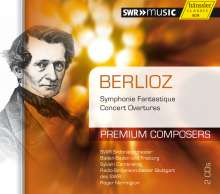 Hector Berlioz (1803-1869): Symphonie fantastique, 2 CDs
