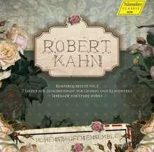 Robert Kahn (1865-1951): Klavierquartett Nr.2, CD