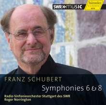 Franz Schubert (1797-1828): Symphonien Nr.6 & 8, CD